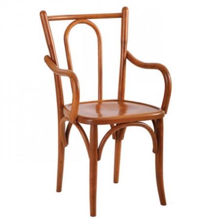 Kollu Açık Eskitme Otel Sandalyesi - ths9511s