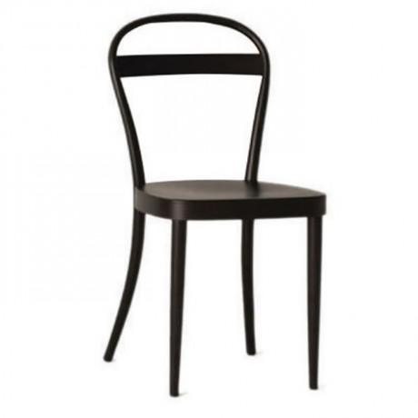 Koyu Venge Boyalı Ahşap Sandalye - ths9524s