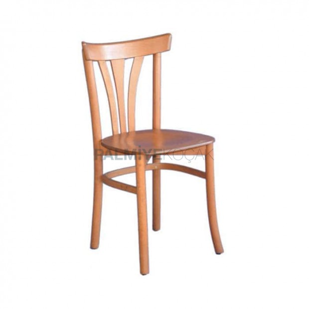 Natural Painted Wooden Thonet Chair