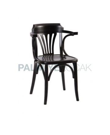 Venge Boyalı Kollu Tonet Sandalye