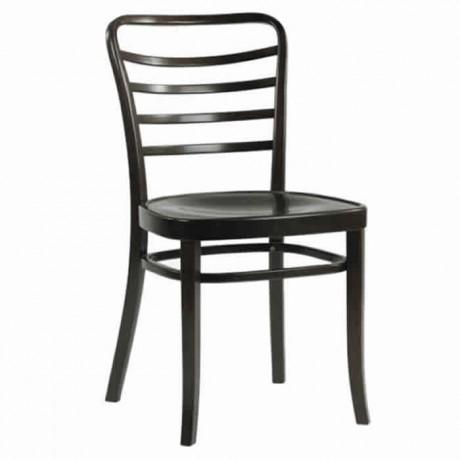 Yatay Cilalı Ahşap Tonet Sandalye - ths9527s