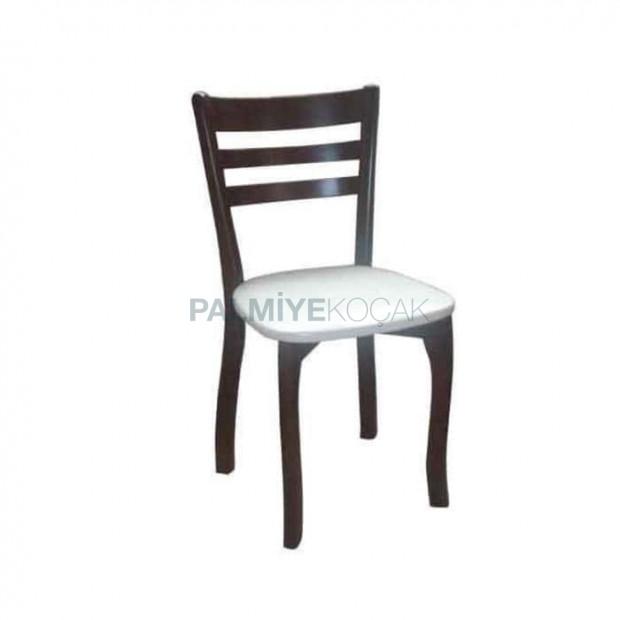Yatay Cilalı Restoran Sandalyesi