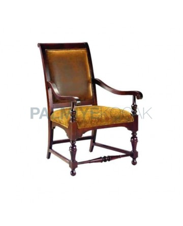 Turned Classic Armchair Classic Fabricated Chair