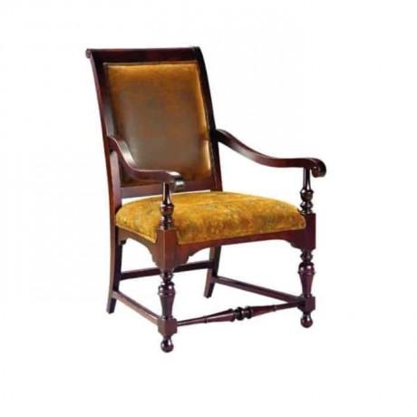 Tornalı Klasik Kollu Klasik Kumaşlı Sandalye - ksak82
