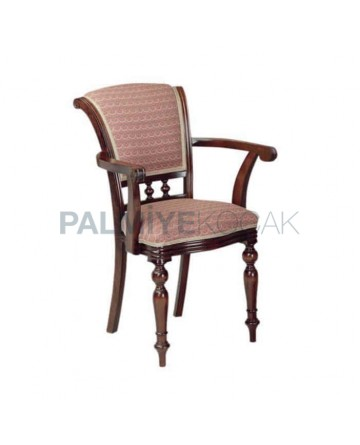 Classic Chair with Turned Sleeves