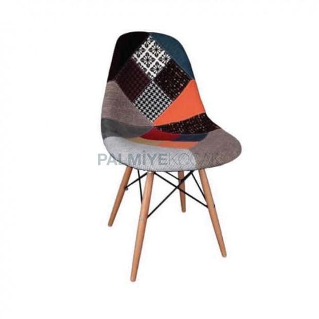 Tornalı Kumaş Döşemeli Poliüretan Sandalye