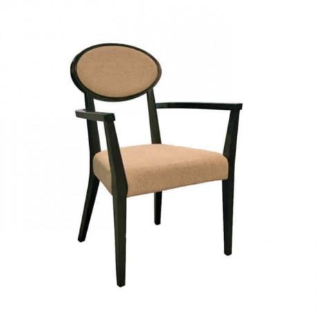 Wenge Boyalı Klasik Kollu Sandalye - ksak14