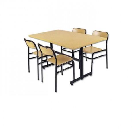 Werzalit Sandalye Masa Yemekhane Takımı - wers09