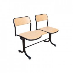 Verzalit Waiting Chair for two
