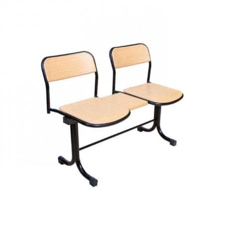 İki Kişilik Verzalit Bekleme Sandalyesi - wers07