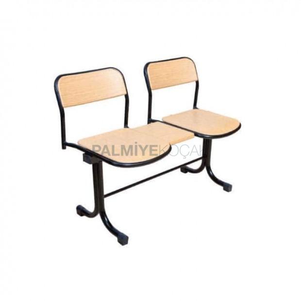 İki Kişilik Verzalit Bekleme Sandalyesi