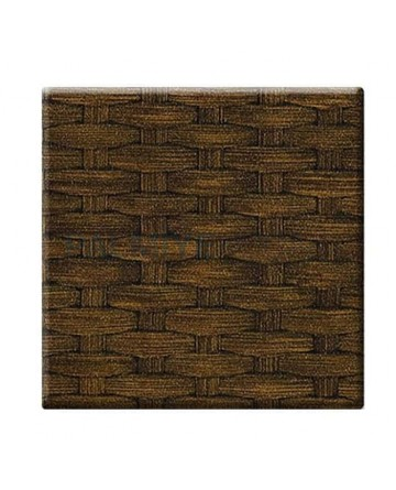 Brown Rattan Werzalit Table Top