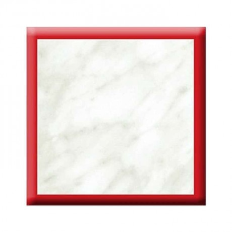 Red Striped Marble Werzalit Table Top - vty03