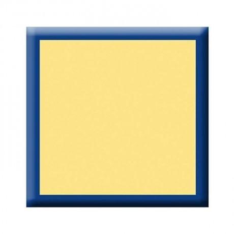 Lacivert Şeritli Sarı Werzalit Tabla - vty04