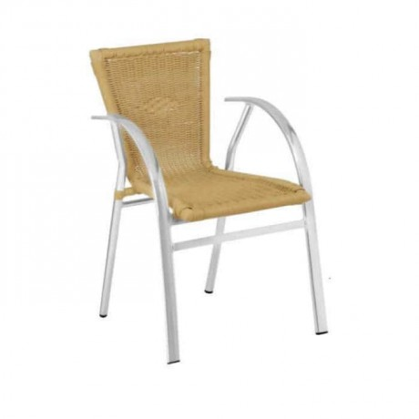 Aluminum Braided Chair with Flat Proffessional Sleeves - alg06