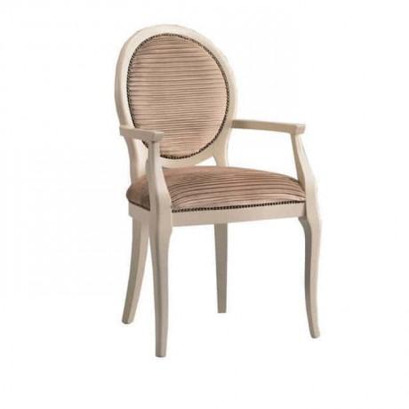 Yuvarlak Sırtlı Klasik Kollu Otel Sandalye - ksak102