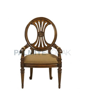 Round Backed Classic Armchair